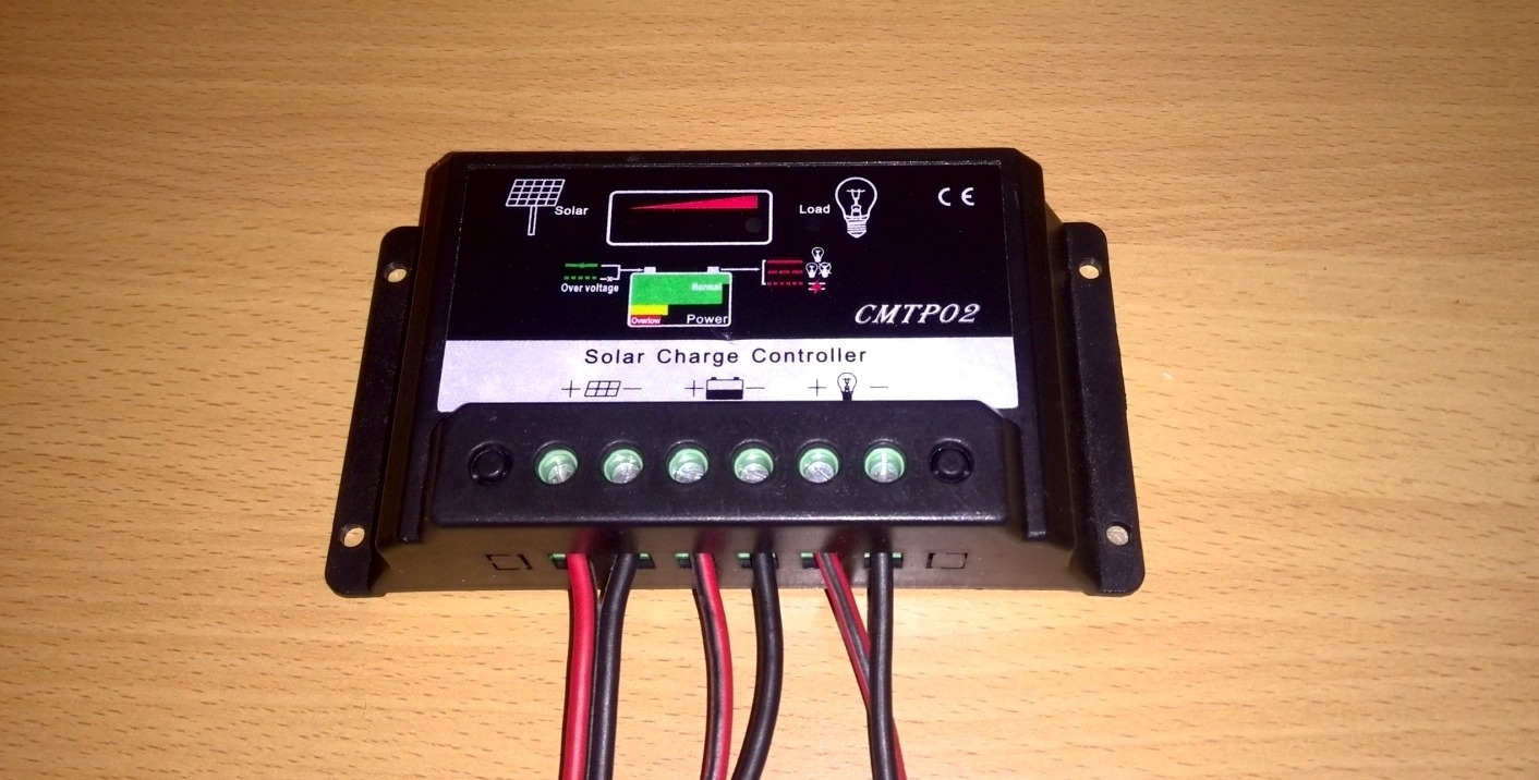 Cmtp02 Disassembling This Solar Charge Controller Diy Projects