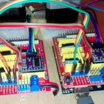 How to run two CNC shields (other one as clone) with one Arduino UNO