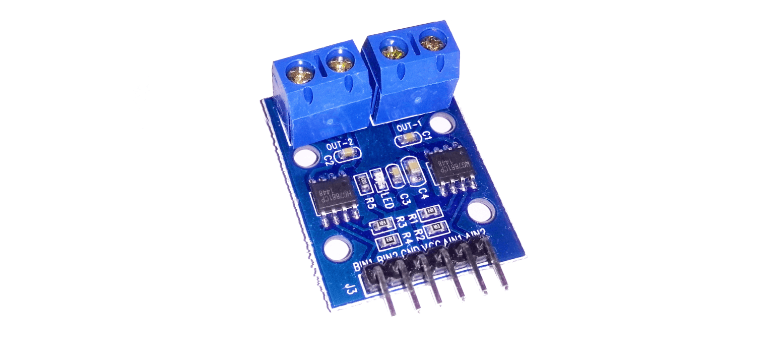 How To Use H Bridge Hg7881 Hg7881cp Module With External Power Schematic Supply And Arduino Uno Diy Projects